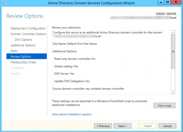 Promoting a windows 2012r2 server domain controller for Best impact windows reviews